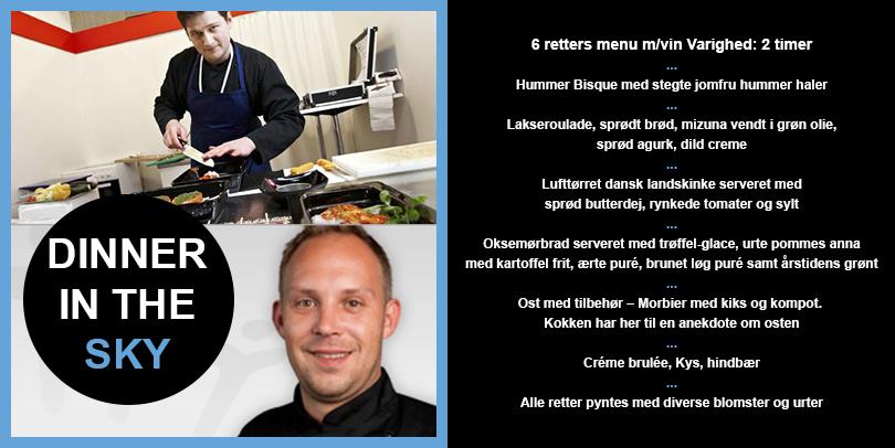 6 retters menu